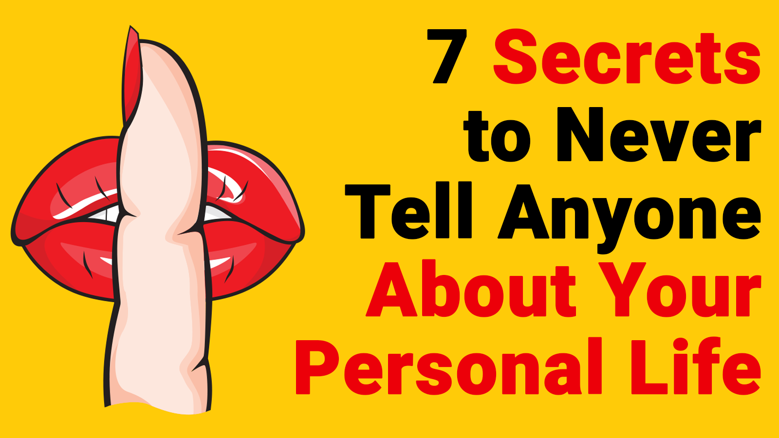 personal tell never secrets anyone reading daily