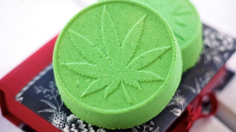 Bathing In Cannabis With Cbd Bath Bombs Great For